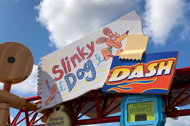 Slinky Dog Dash - Hollywood Studios - Roller Coaster - Disney World