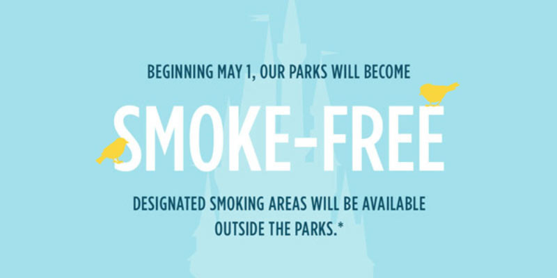 Disney World and Disneyland - Smoke Free