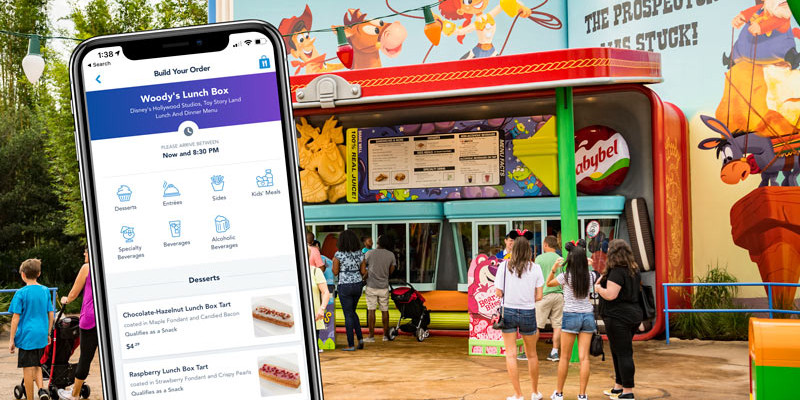 Disney World Restaurant Mobile Ordering - WDW Tip