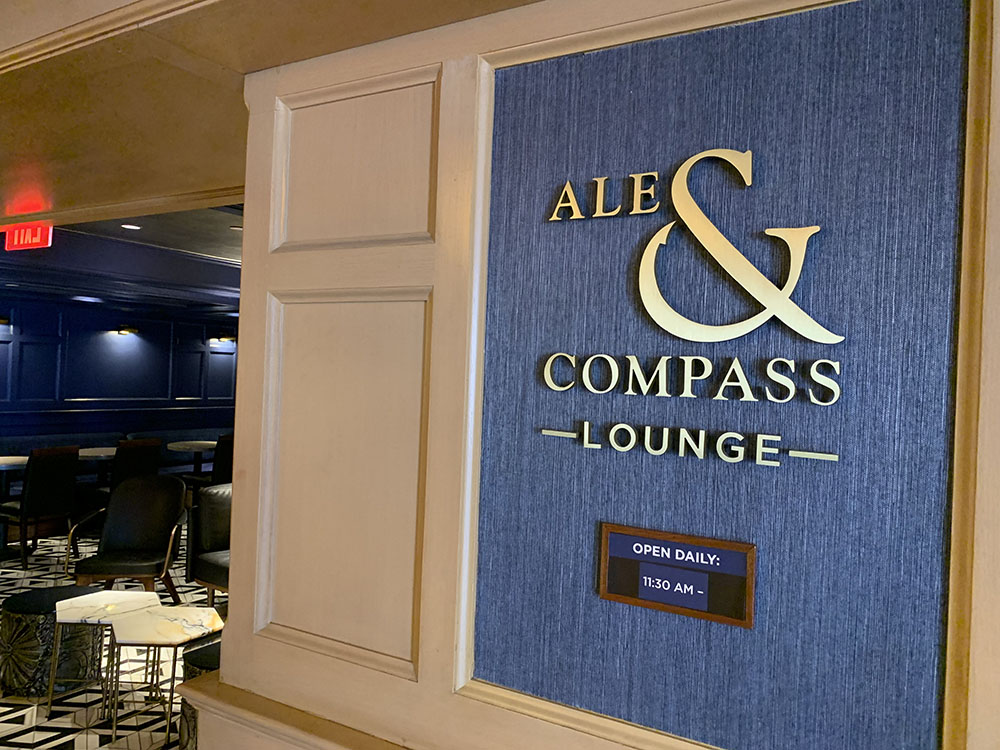 Ale and Compass Lounge - Disney World's Best Bars - Guide2WDW