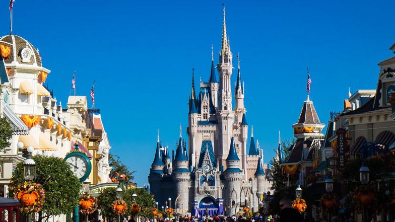 Magic Kingdom - Cinderella Castle and Main Street -Guide2WDW