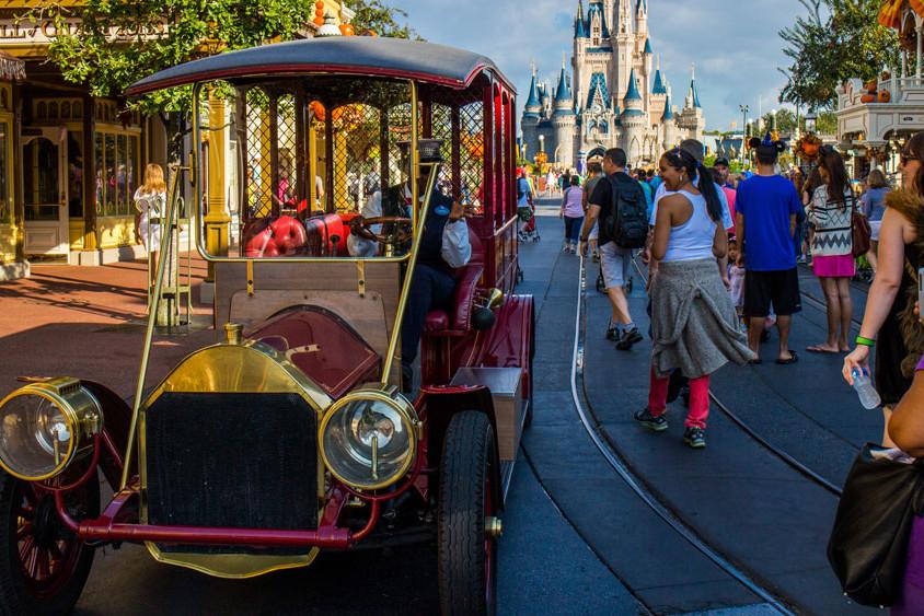 Main Street Vehicles - Disney World