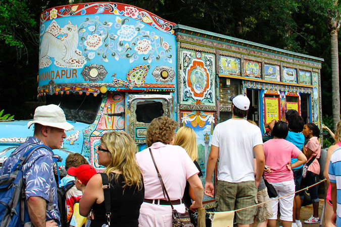 Anandapur Ice Cream Truck - Animal Kingdom Dining