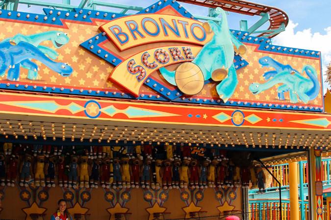 Bronto Score - Fossil Fun Games - Animal Kingdom