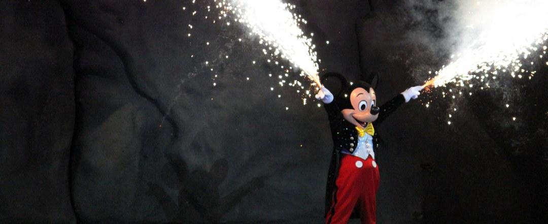 Fantasmic- Mickey Mouse - Disney World