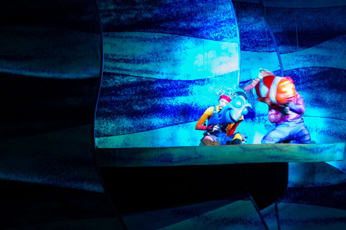 Finding Nemo Musical - Animal Kingdom Show