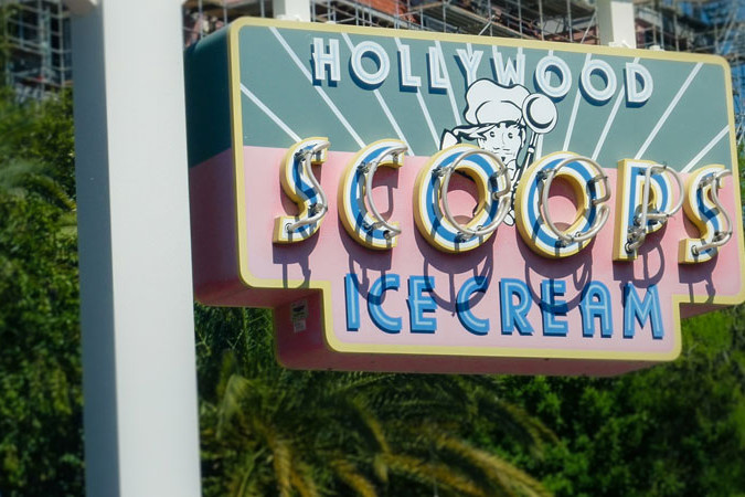 Hollywood Scoops Ice Cream