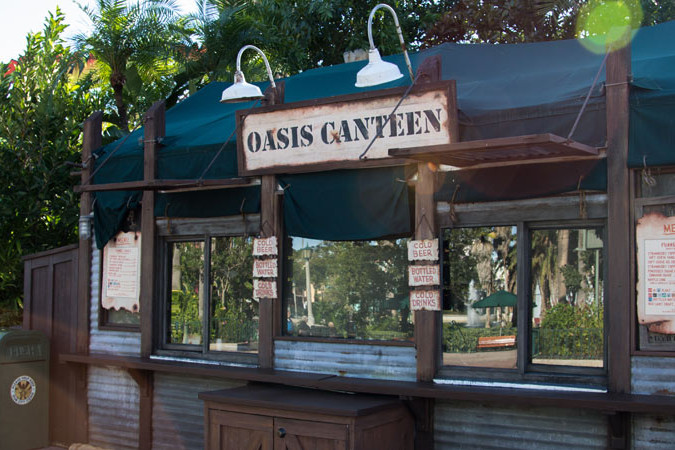 Oasis Canteen - Disney's Hollywood Studios Restaurant