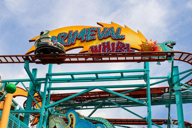 Primeval Whirl - Animal Kingdom Roller Coaster
