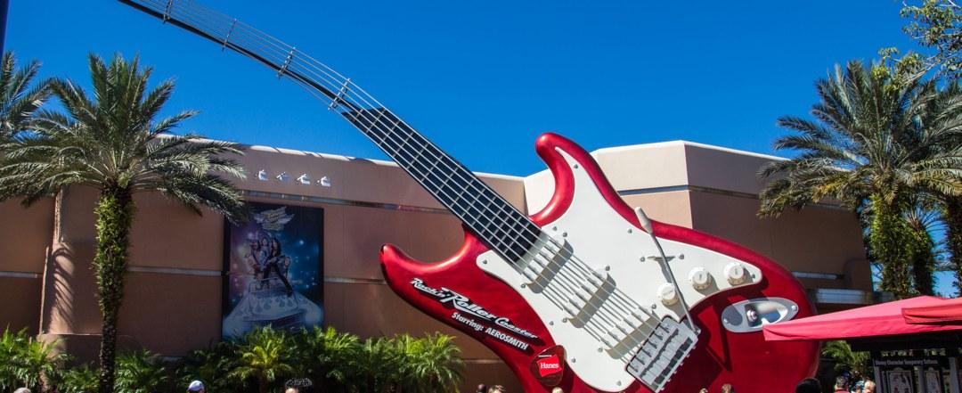 Rock 'n' Roller Coaster - Disney World Attraction