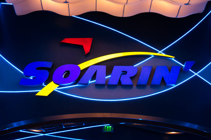Soarin Sign - Epcot Attraction