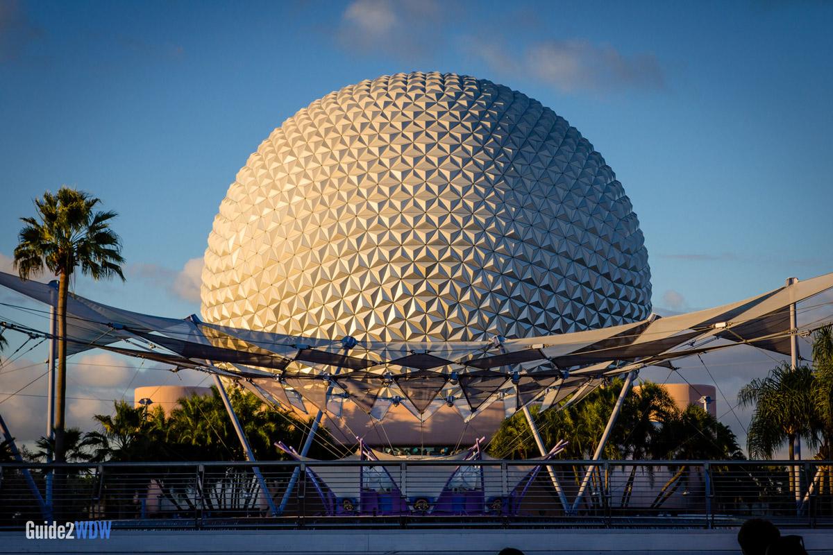 Spaceship Earth - Exterior