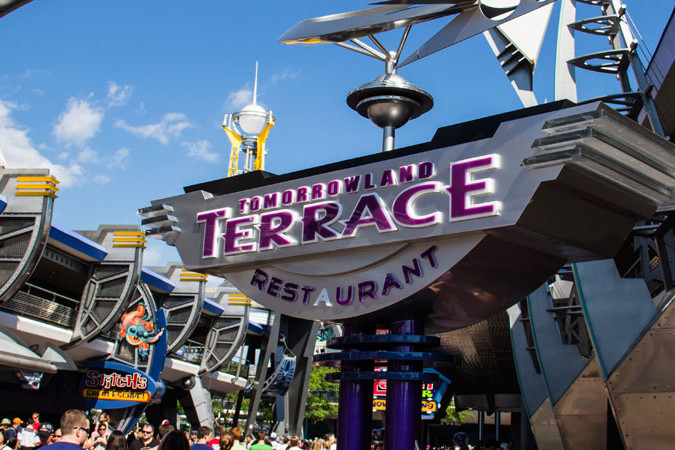 Tomorrowland Terrace - Magic Kingdom Restaurant