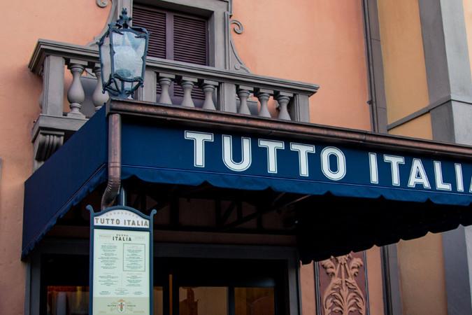 Tutto Italia - Epcot Dining
