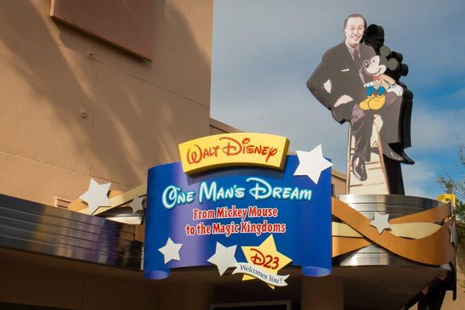 Walt Disney: One Man's Dream - Hollywood Studios Attraction
