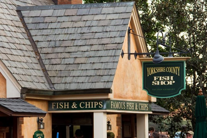 Yorkshire County Fish Shop - Epcot United Kingdom Pavilion - Walt Disney World