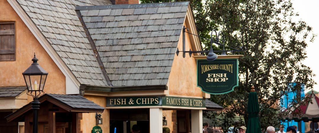 Yorkshire County Fish Shop - Epcot United Kingdom Pavilion - Walt Disney World