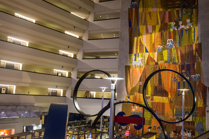 Contemporary - Interior - Walt Disney World Resort