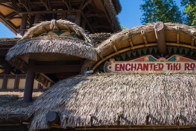 Enchanted Tiki Room - Banner - Magic Kingdom Attraction