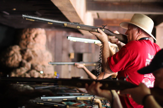 Frontierland Shootin Arcade - Disney World Guests