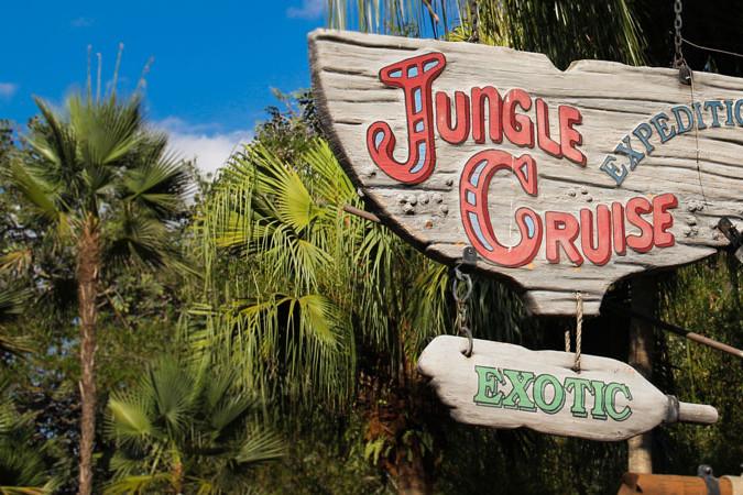 Jungle Cruise Sign - Magic Kingdom