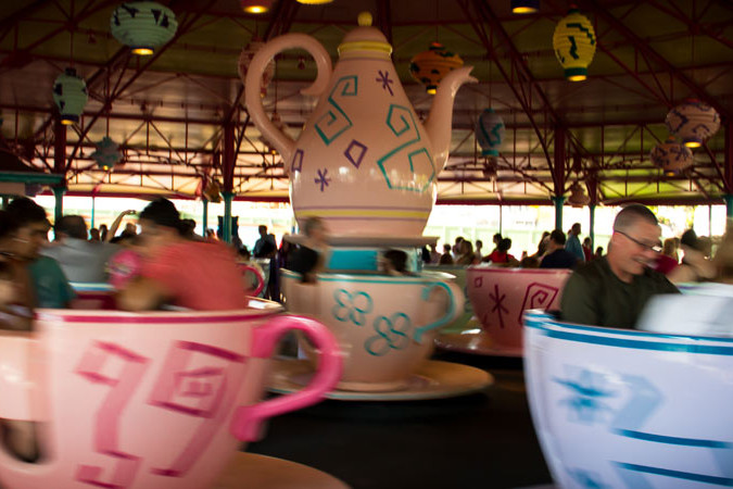 Spinning Teacups - Mad Tea Party