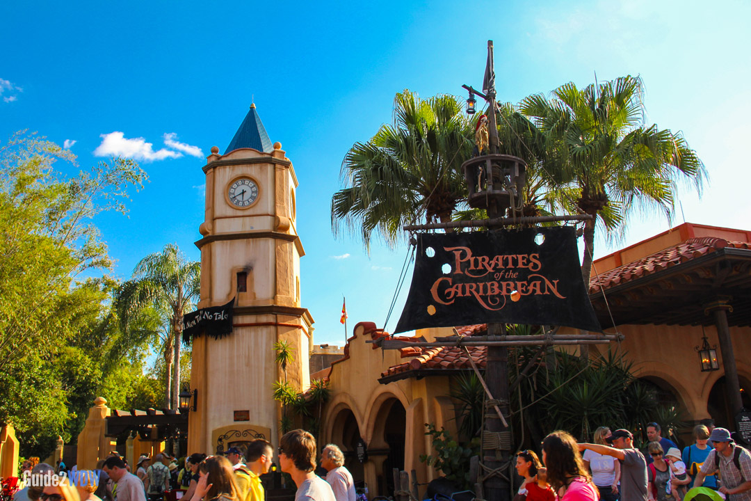 Pirates of the Caribbean - Exterior - Magic Kingdom Attraction