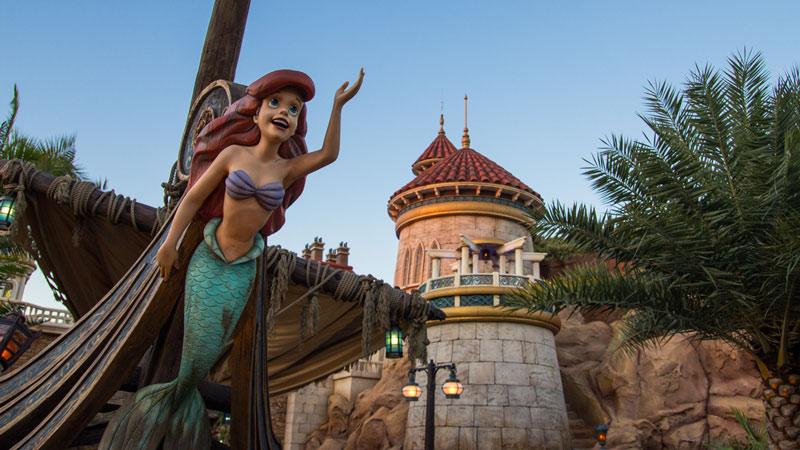 Little Mermaid - Magic Kingdom