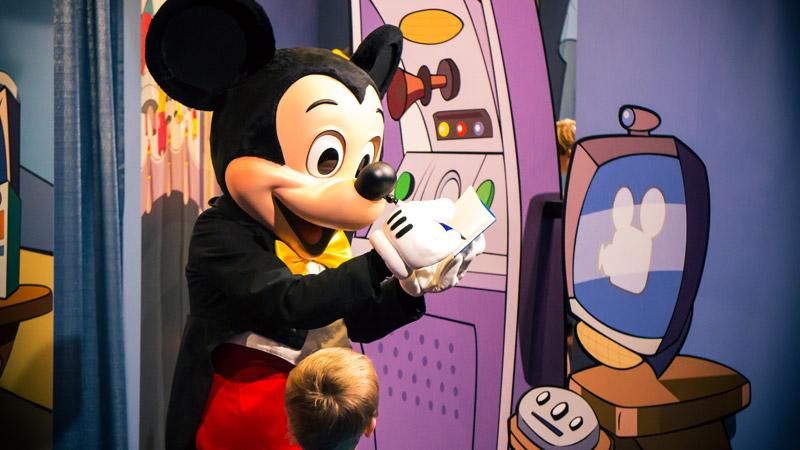 Mickey -Disney World Meet and Greet