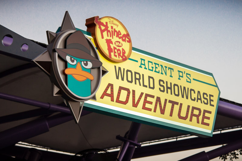 Agent P - World Showcase Adventure - Epcot Attraction - Disney World