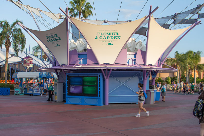 Epcot Tip Board - Disney World