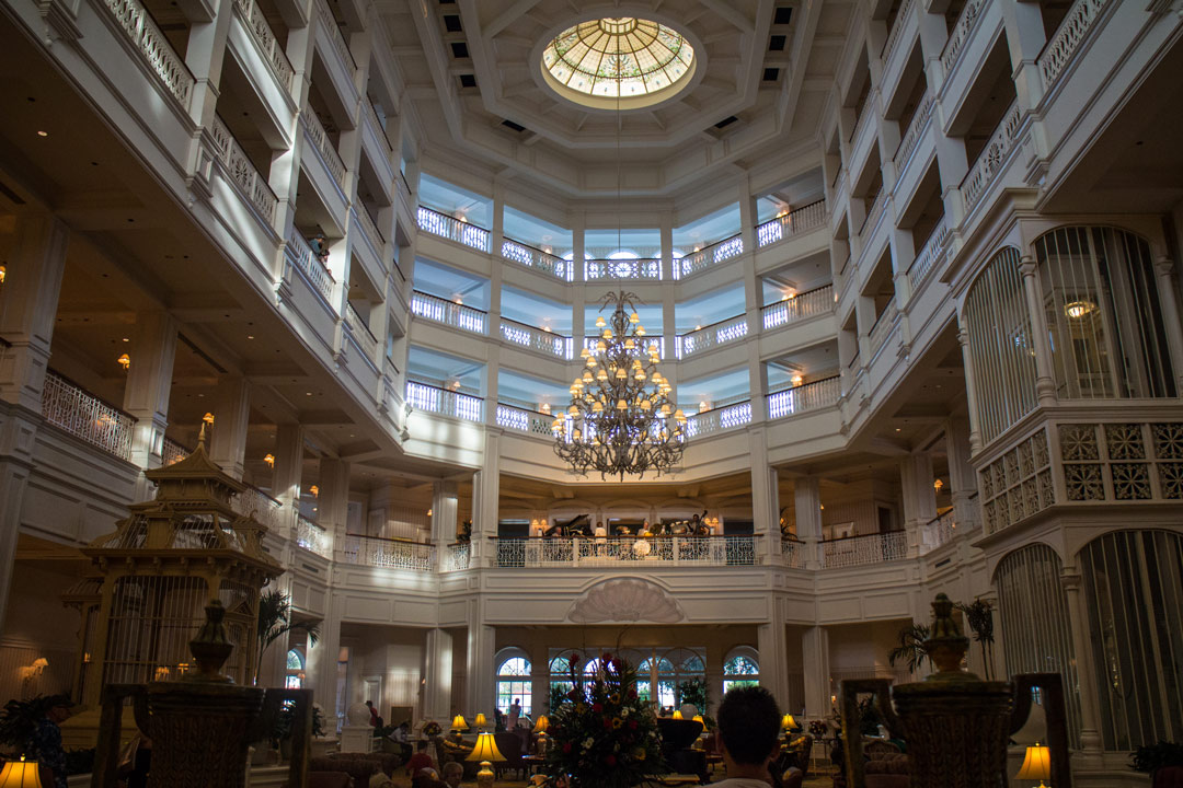 Grand Floridian Lobby - Walt Disney World
