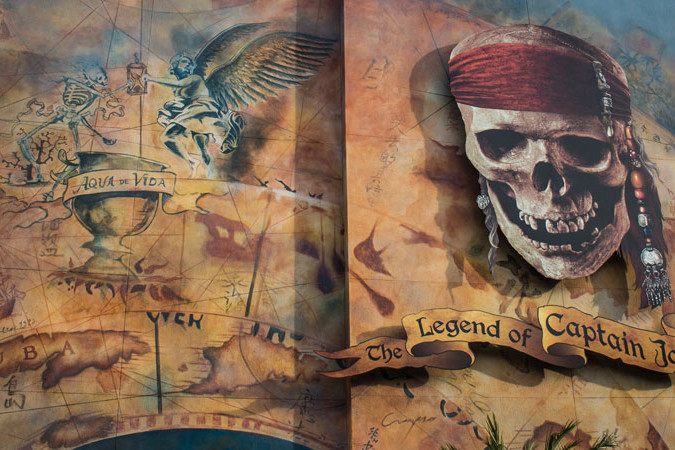 Legend of Captain Jack Sparrow Show - Disney World Attraction