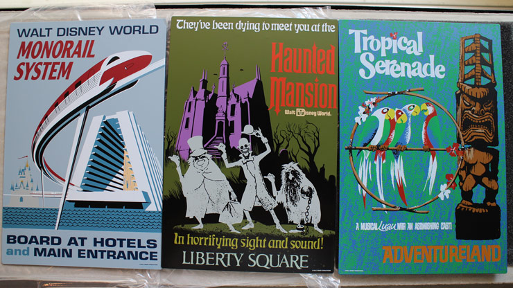 Attraction Posters - Metal Signs
