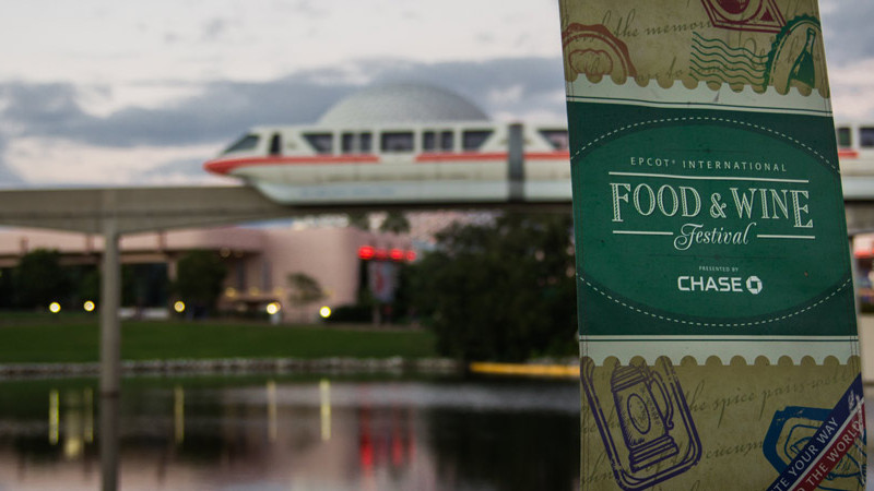 Epcot Food and Wine Festival - Disney World Event