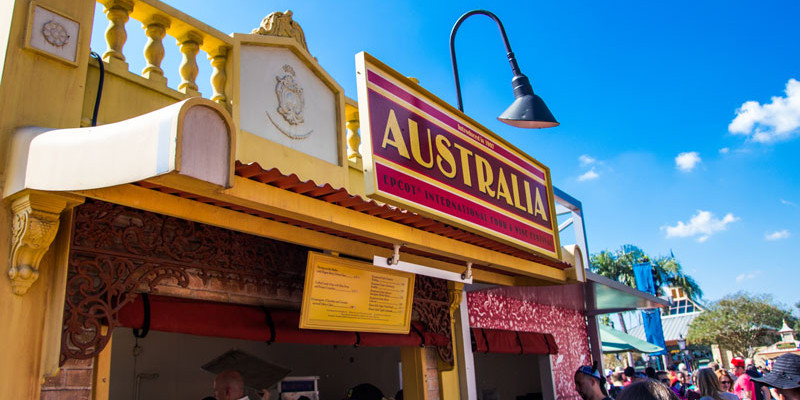 Australia - Epcot Food and Wine Festival