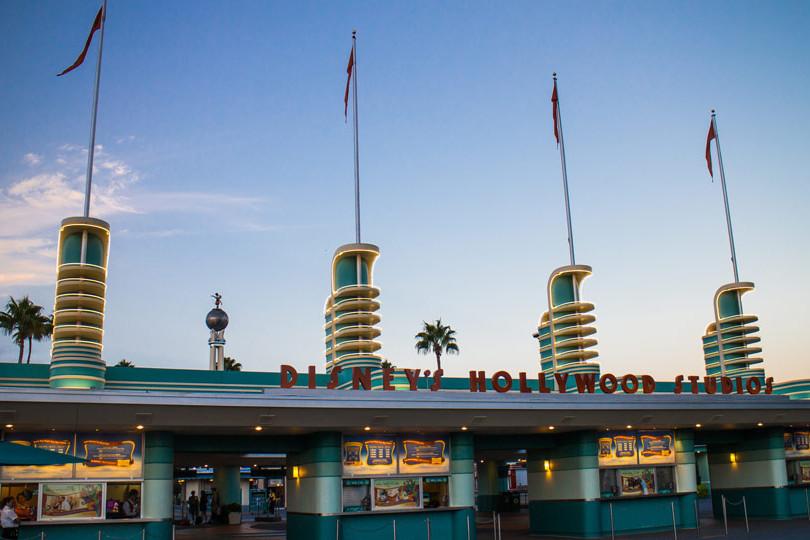 Hollywood Studios - Early Morning Entrance
