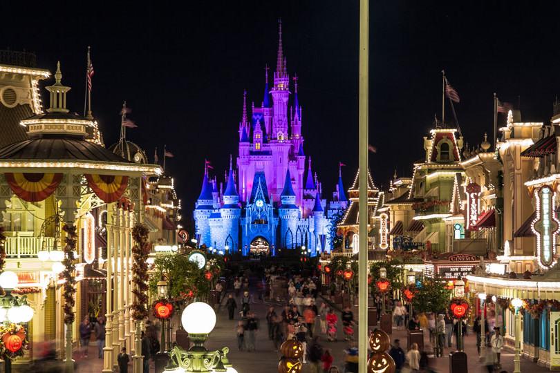 Magic Kingdom - Late Night