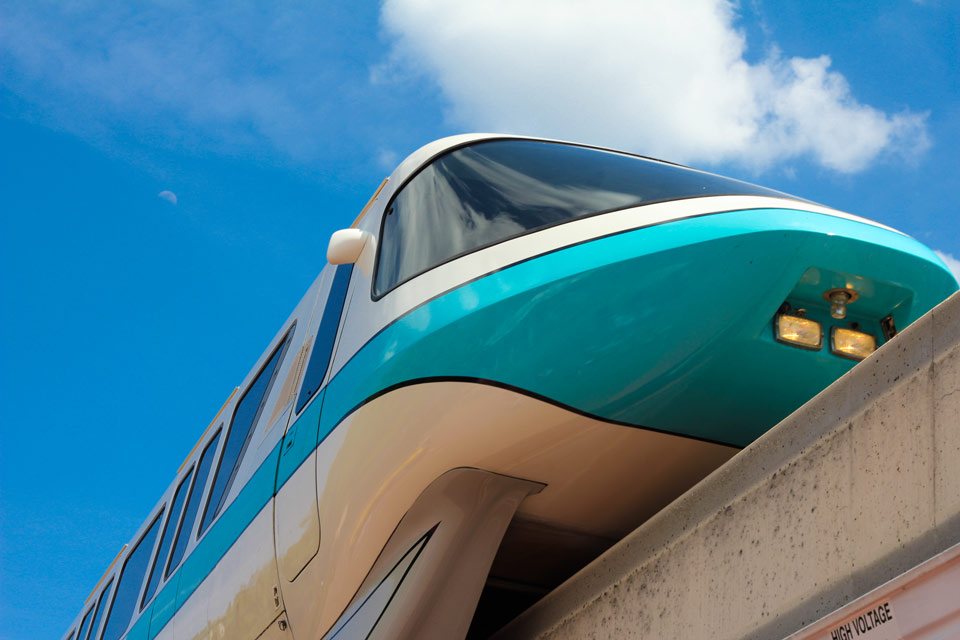 Monorail - Walt Disney World