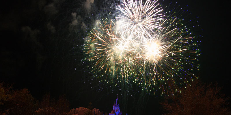 Beast Castle - Best Alternate Places to Watch Magic Kingdom's Fireworks