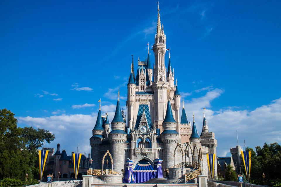 Cinderella Castle - Disney World