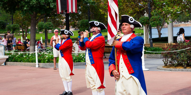 Spirit of America Fife and Drum - Epcot