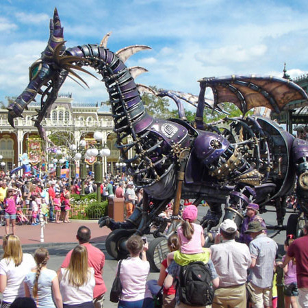 Festival of Fantasy - Dragon - Disney World Parade