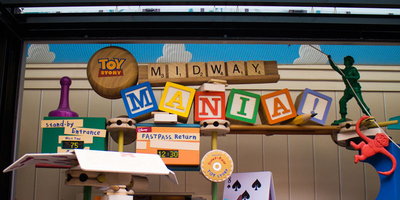 Toy Story Midway Mania - Disney World Attraction
