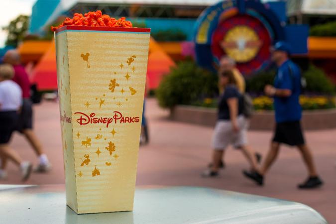 Buffalo Bleu Cheese Popcorn - Epcot Imagination Popcorn Stand - Disney World Snack