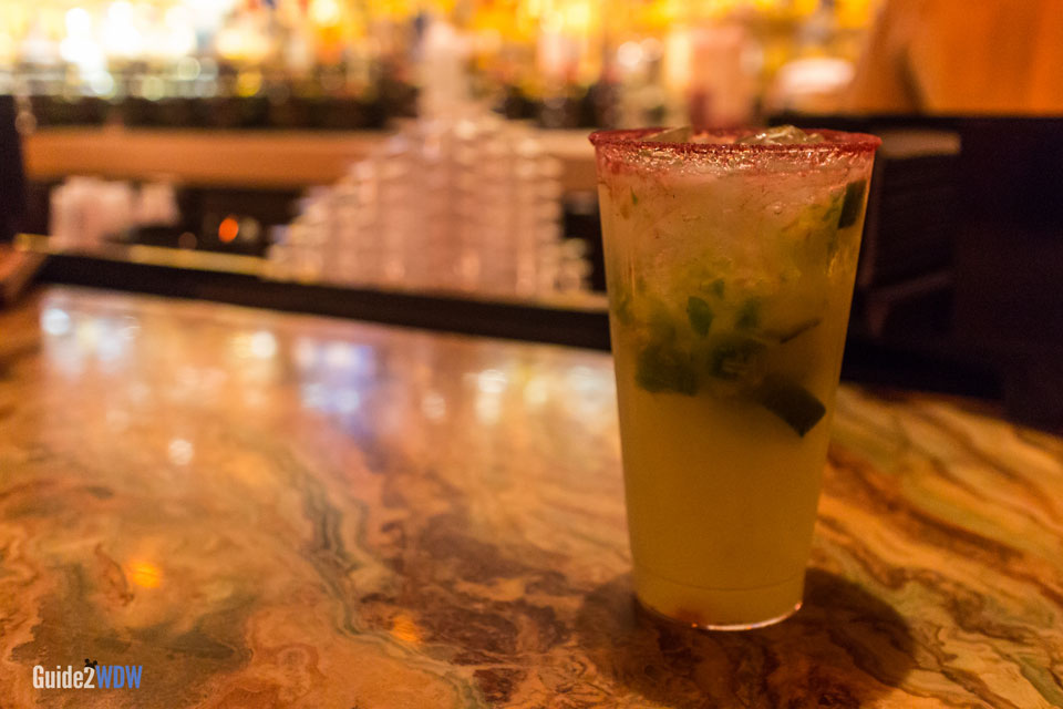 Jalapeno Margarita - Epcot's La Cava del Tequila