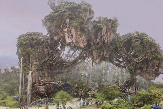 Avatar Land at Animal Kingdom concept art.