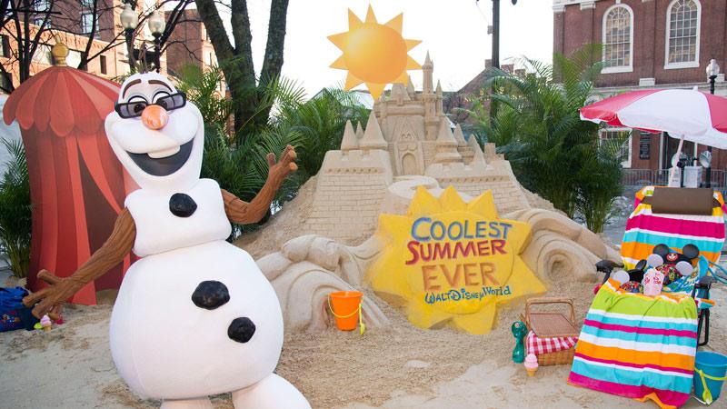Olaf - Coolest Summer Ever at Disney World