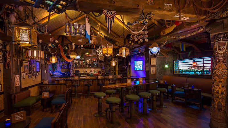 Trader Sam's Grog Grotto at Disney World