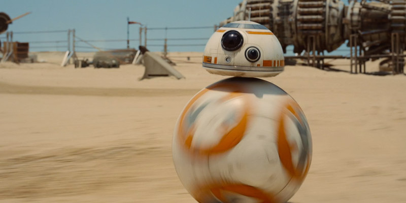 BB-8 - Coming soon to Disney World and Disneyland
